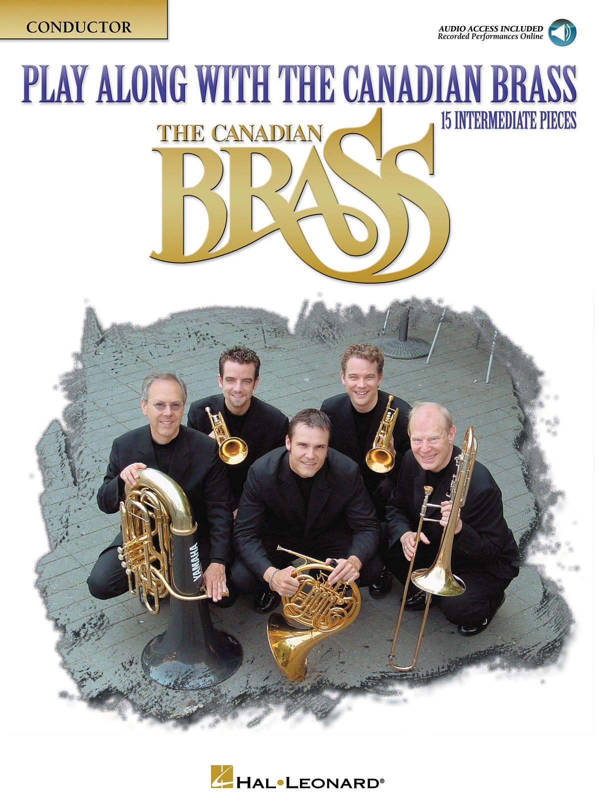 Play Along With the Canadian Brass - 15 intermediate Pieces avec audio - laflutedepan.com
