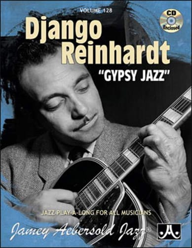 METHODE AEBERSOLD - Volume 128 - Django Reinhardt Gypsy Jazz - Partition - di-arezzo.com