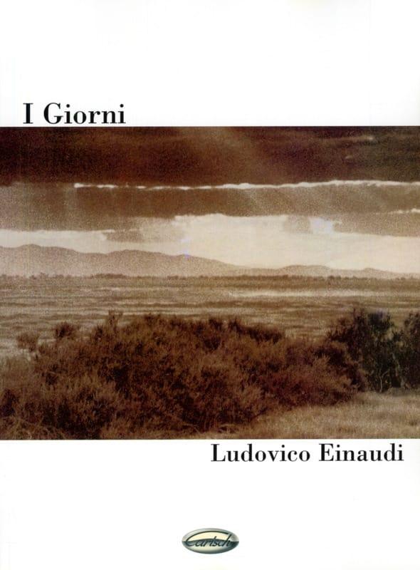 Ludovico Einaudi - I Giorni - Partition - di-arezzo.co.uk