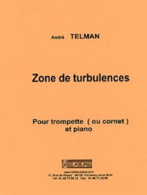 André Telman - Zone de turbulences - Partition - di-arezzo.fr