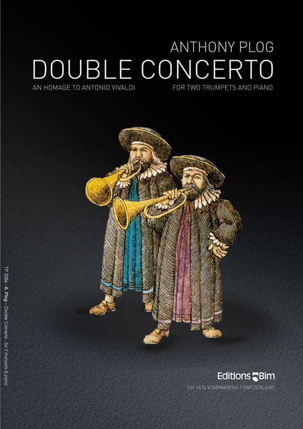 Double Concerto - Anthony Plog - Partition - laflutedepan.com