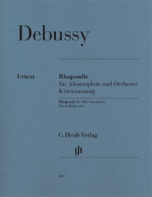 DEBUSSY - Rhapsody - Urtex - Partition - di-arezzo.co.uk