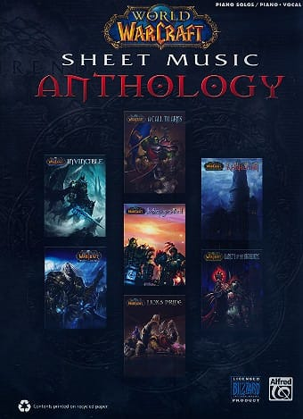 Musique de Jeux Vidéo - World of Warcraft Sheet Music Anthology - Partition - di-arezzo.co.uk