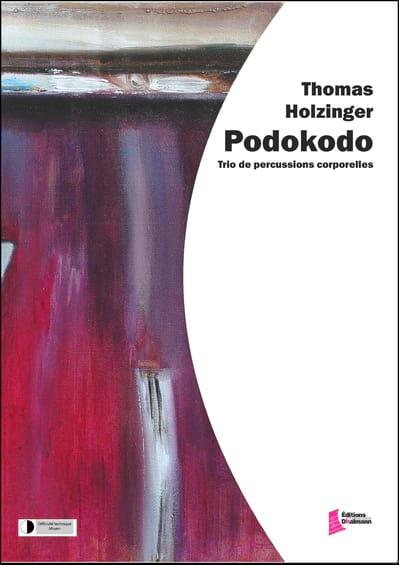 Podokodo - Thomas Holzinger - Partition - laflutedepan.com