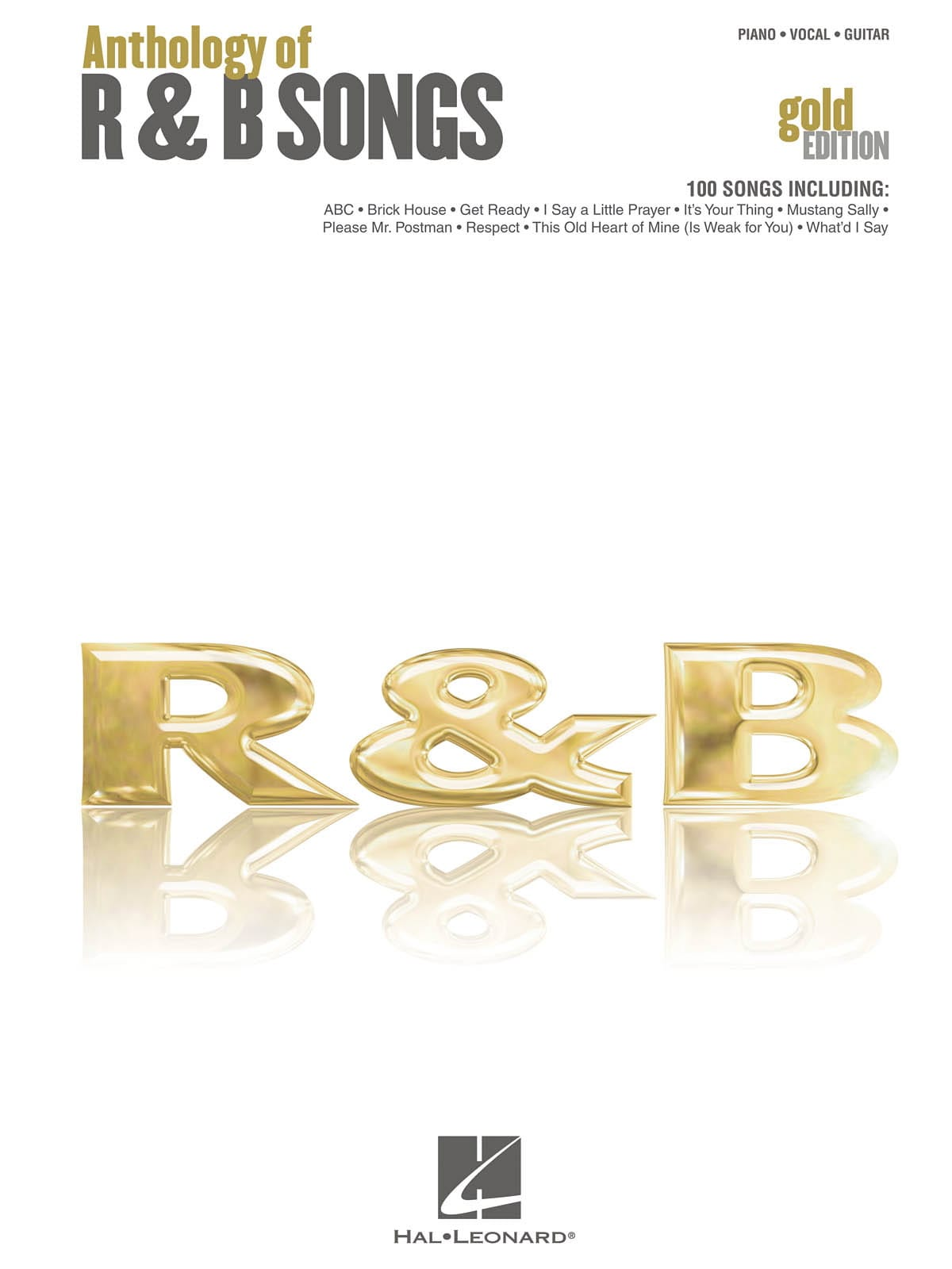 - Anthology of RB Songs - Gold Edition - Partition - di-arezzo.co.uk