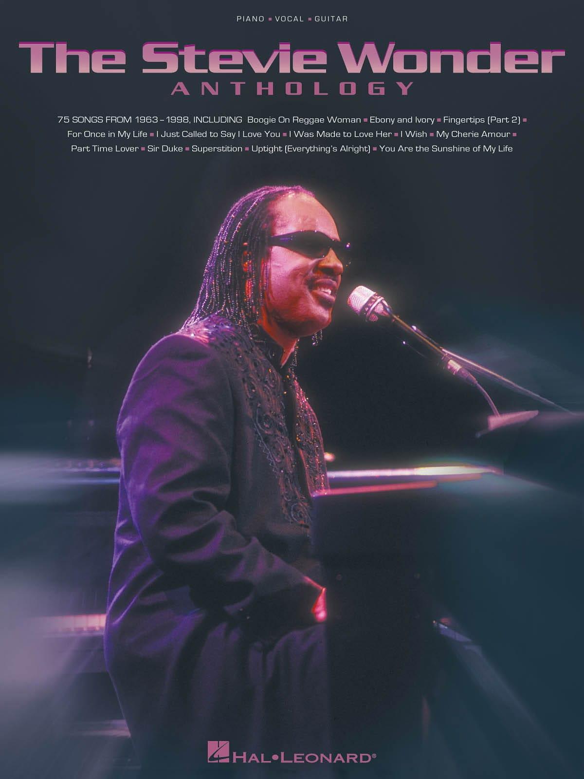 Stevie Wonder - The Stevie Wonder Anthology - Partition - di-arezzo.com