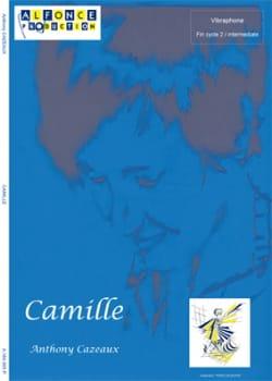 Camille - Anthony Cazeaux - Partition - Vibraphone - laflutedepan.com