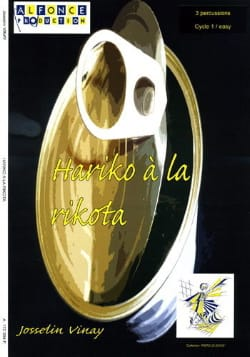 Hariko à la Rikota - Jocelyn Vinay - Partition - laflutedepan.com