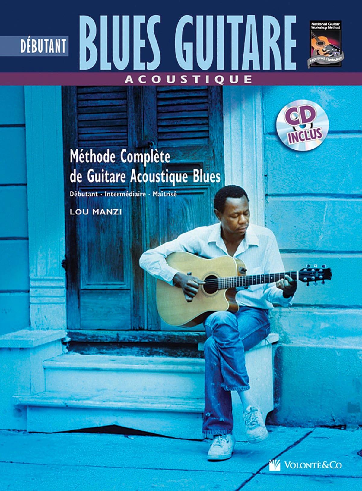 Blues Guitare Acoustique - Débutant Version Française - laflutedepan.com