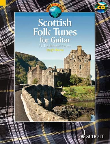 Scottish Folk Tunes for Guitar - 31 Traditional Pieces - laflutedepan.com