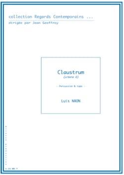 Claustrum Urbana 6 - Luis Naon - Partition - laflutedepan.com