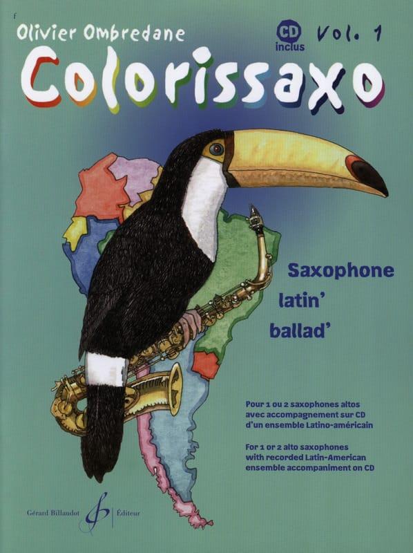 Colorissaxo - Volume 1 - Olivier Ombredane - laflutedepan.com