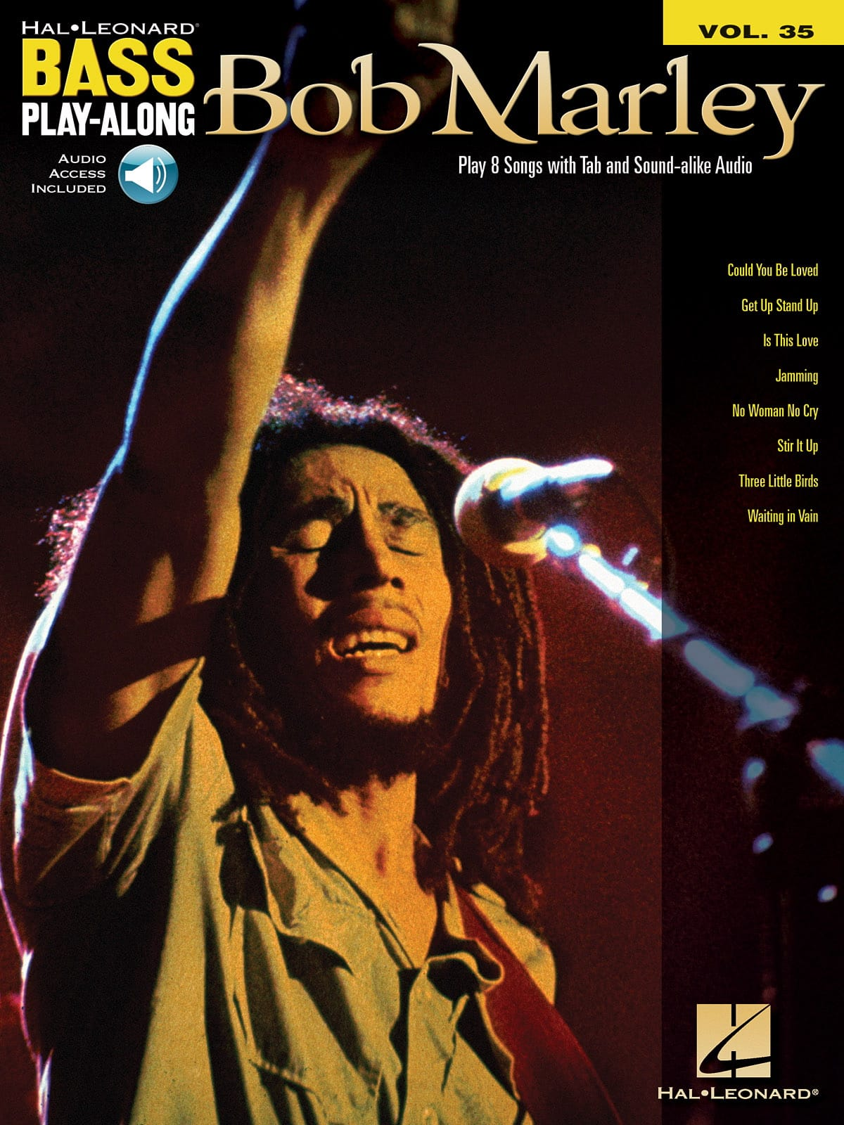 Bob Marley - Bass Play-Along Volume 35 - Bob Marley - Partition - di-arezzo.co.uk