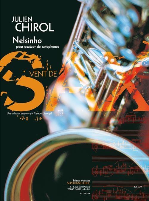Nelsinho - Julien Chirol - Partition - Saxophone - laflutedepan.com