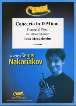 Concerto en Ré mineur - Mendelssohn Bartholdy Felix - laflutedepan.com