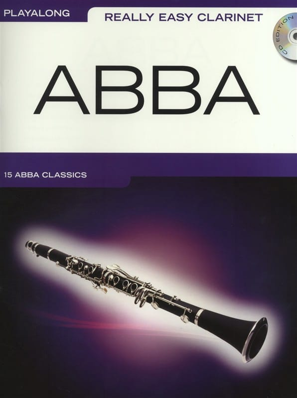 Really Easy Clarinet - Abba - ABBA - Partition - laflutedepan.com