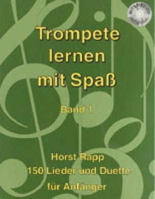 Horst Rapp - Trompete Lernen mit Spass Band 1 - Partition - di-arezzo.it