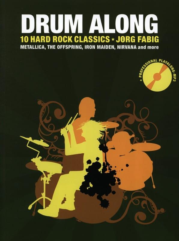 - Drum Along - 10 Hard Rock Classics - Partition - di-arezzo.co.uk