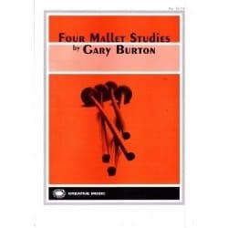 Four Mallet Studies - Gary Burton - Partition - laflutedepan.com