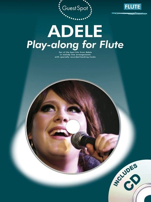Adele - Guest Spot - Adele Play-Along for Flute - Partition - di-arezzo.com