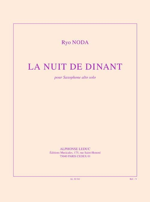 Ryo Noda - The Night of Dinant - Partition - di-arezzo.co.uk