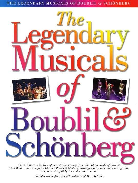 Claude-Michel Schönberg - The Legendary Musicals of Boublil & Schönberg - Partition - di-arezzo.fr