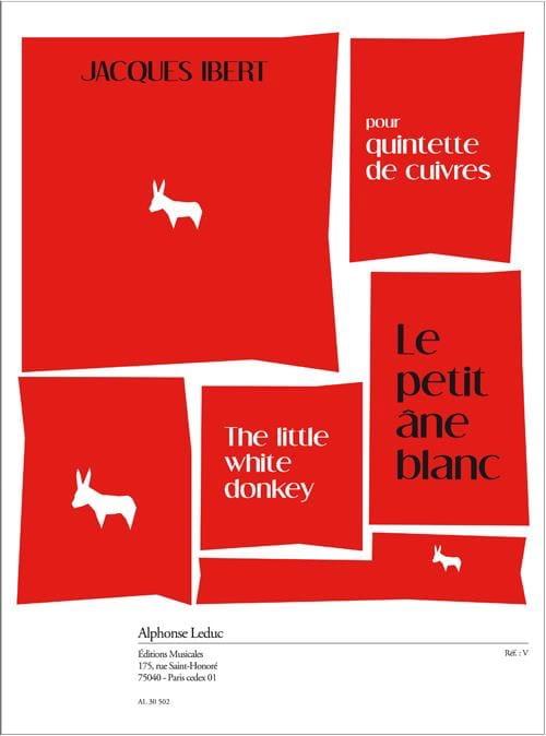 Le Petit Ane Blanc - IBERT - Partition - laflutedepan.com