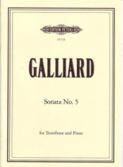 Sonata N° 5 - Johann Ernst Galliard - Partition - laflutedepan.com