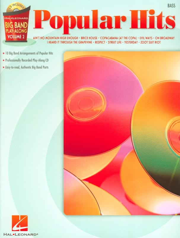 Big band play-along volume 2 - Popular hits - laflutedepan.com