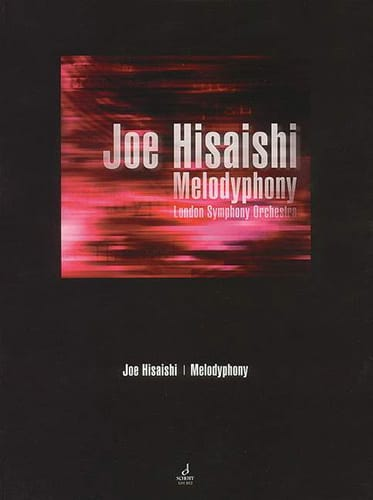 Joe Hisaishi - Melodyphony - Partition - di-arezzo.co.uk