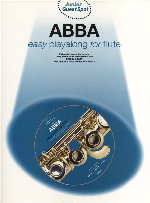 ABBA - Junior Guest Spot - Easy Playalong Junior For Flute - Partition - di-arezzo.com