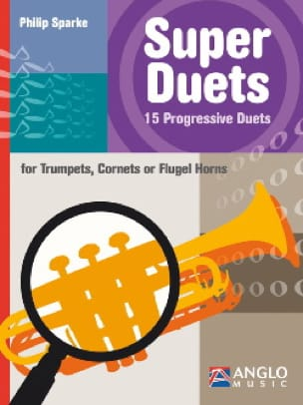 Philip Sparke - Super duets - 15 dúos progresivos - Partition - di-arezzo.es