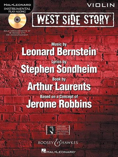 Leonard Bernstein - West side story - Instrumental play-along - Partition - di-arezzo.fr