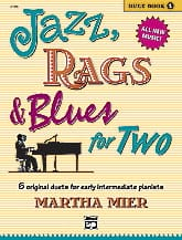 Martha Mier - Jazz, Rags - Blues for Two - Duet Book 1 - Partition - di-arezzo.co.uk