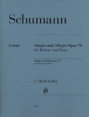 SCHUMANN - Adagio and Allegro Opus 70 - Urtext - Partition - di-arezzo.com