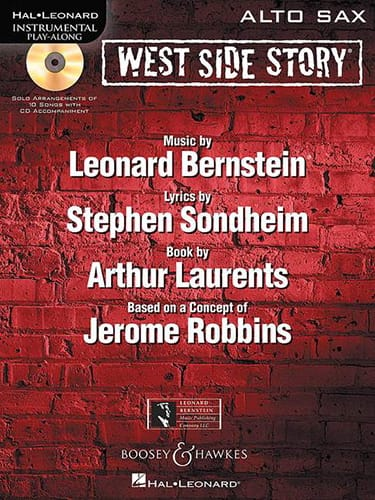 West Side Story - BERNSTEIN - Partition - Saxophone - laflutedepan.com