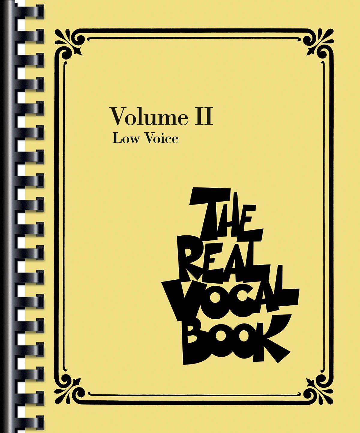 The Real Vocal Book Volume 2 - Low Voice - laflutedepan.com