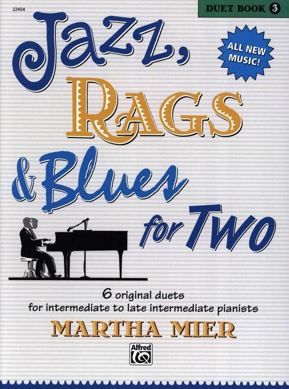 Jazz, Rags & Blues for Two - Duet Book 3 - laflutedepan.com