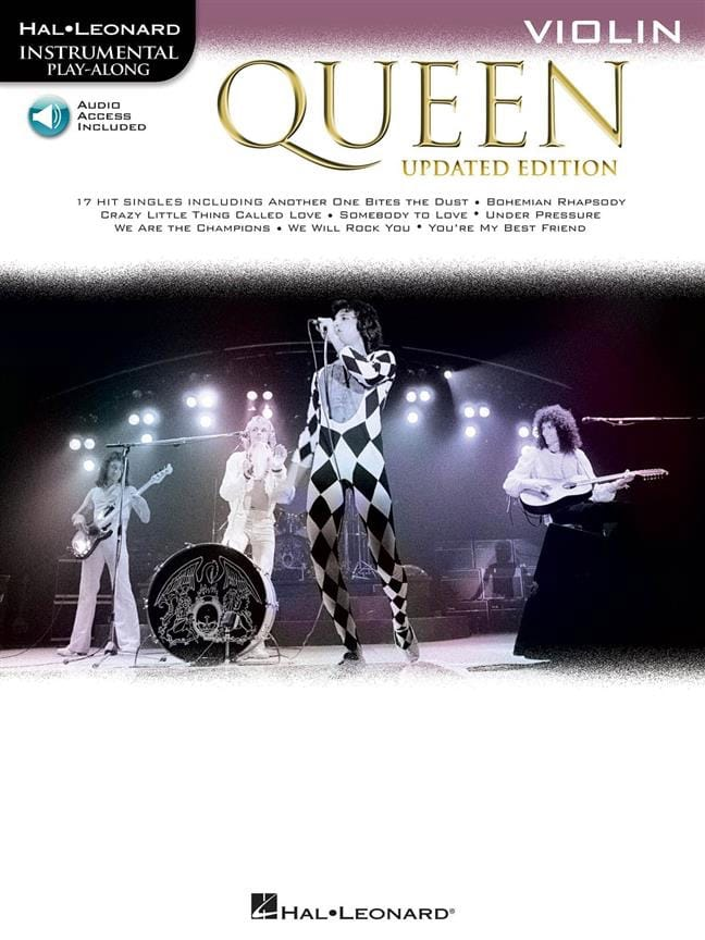 Updated Edition - Violon - Queen - Partition - laflutedepan.com