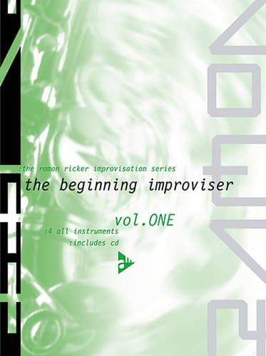 Ramon Ricker - Volume 1 - The Beginning Improviser - Partition - di-arezzo.com