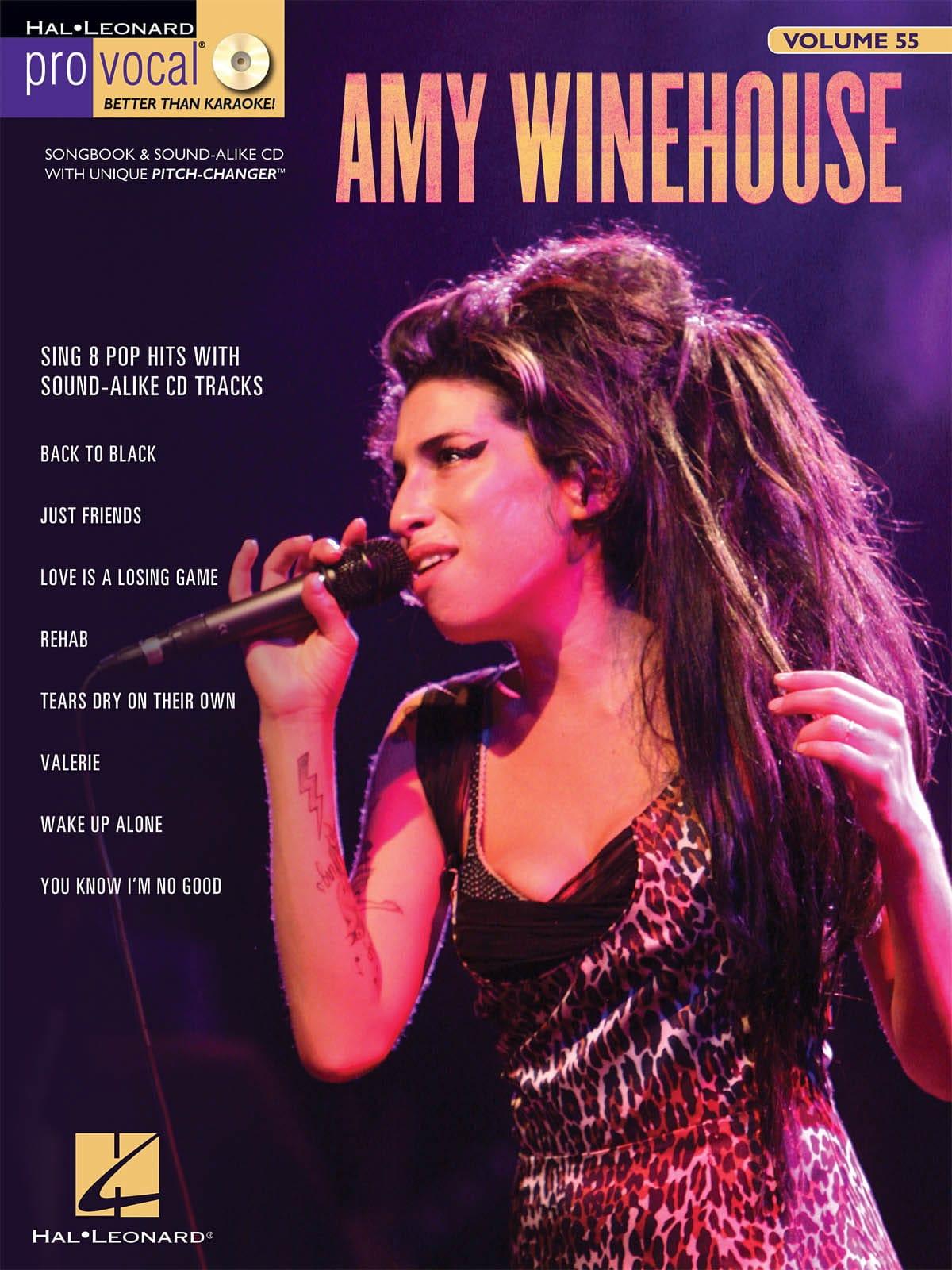 Amy Winehouse - Pro Vocal Women's Edition Volume 55 - Amy Winehouse - Partition - di-arezzo.co.uk