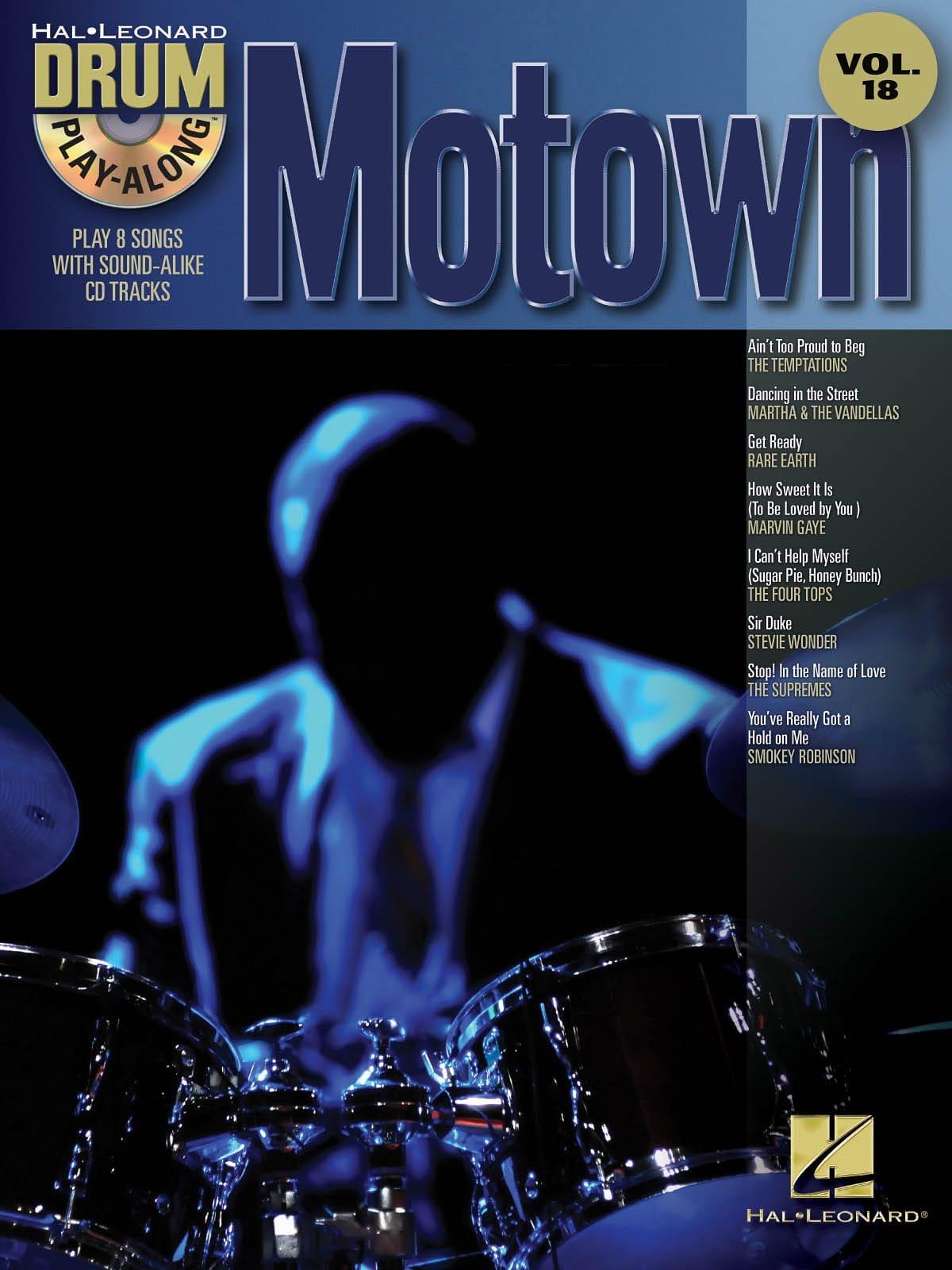 Drum play-along volume 18 - Motown - Partition - laflutedepan.com