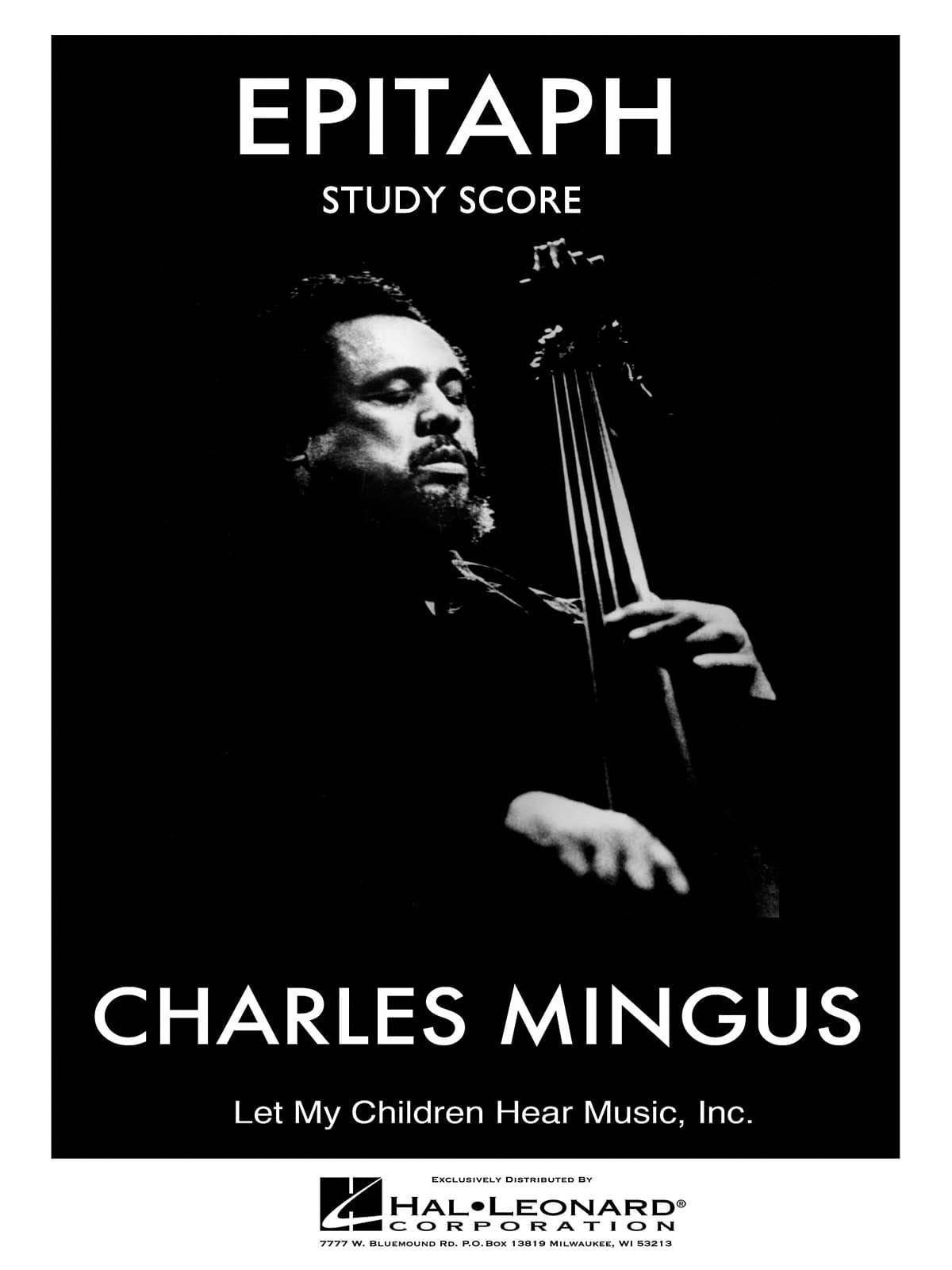 Epitaph - Study Score - Charles Mingus - Partition - laflutedepan.com