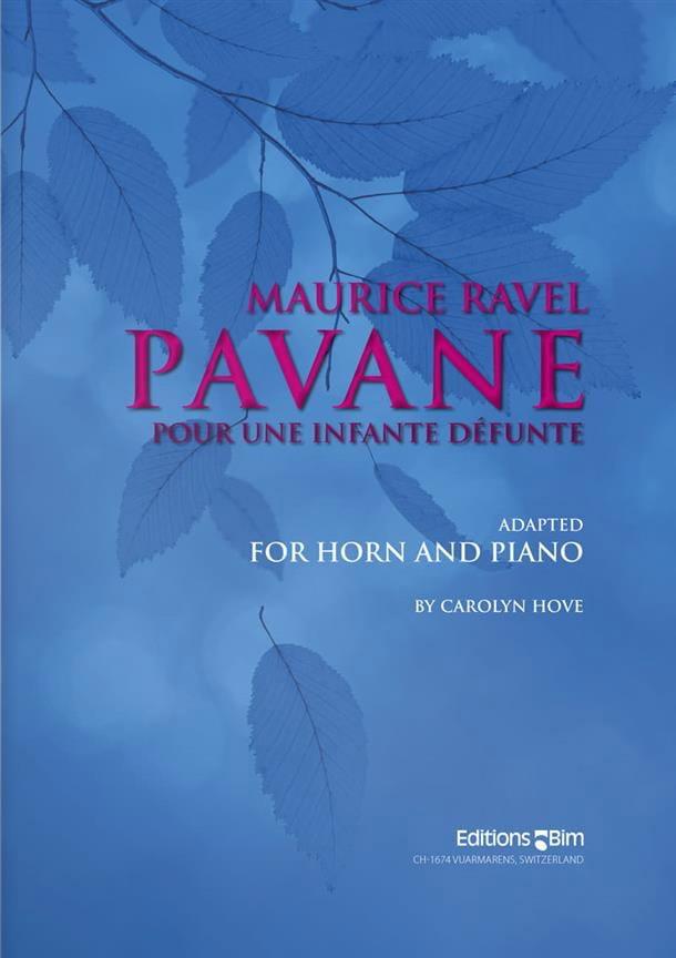 Maurice Ravel - Pavane for a dead Infante - Partition - di-arezzo.com