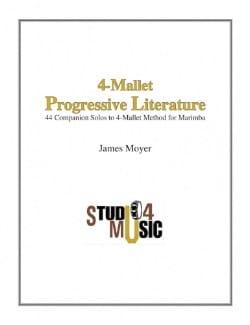 - 4-Mallet Progressive Literature - Partition - di-arezzo.fr