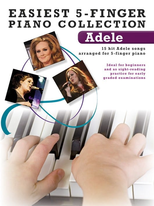 Adele - Easiest 5-Finger Piano Collection - Partition - di-arezzo.com