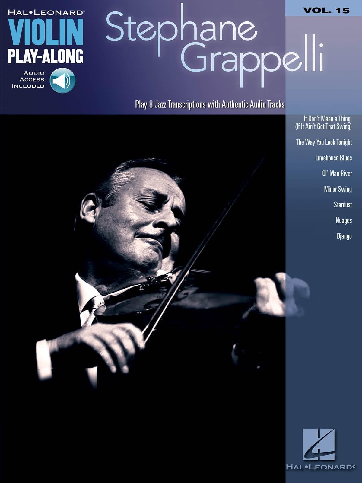 Violin play-along volume 15 Stephane Grappelli - laflutedepan.com