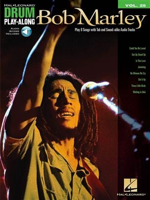 Bob Marley - Drum play-along volume 25 - Bob Marley - Partition - di-arezzo.co.uk