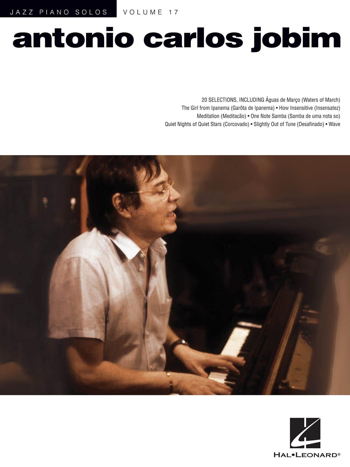 Antonio Carlos Jobim - Solos Piano Solo Volume 17 - Antonio Carlos Jobim - Partition - di-arezzo.co.uk