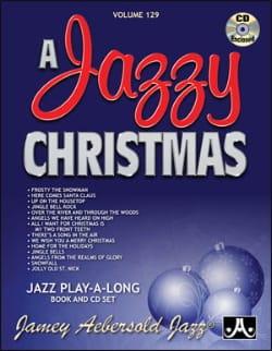 Volume 129 - A Jazzy Christmas - METHODE AEBERSOLD - laflutedepan.com